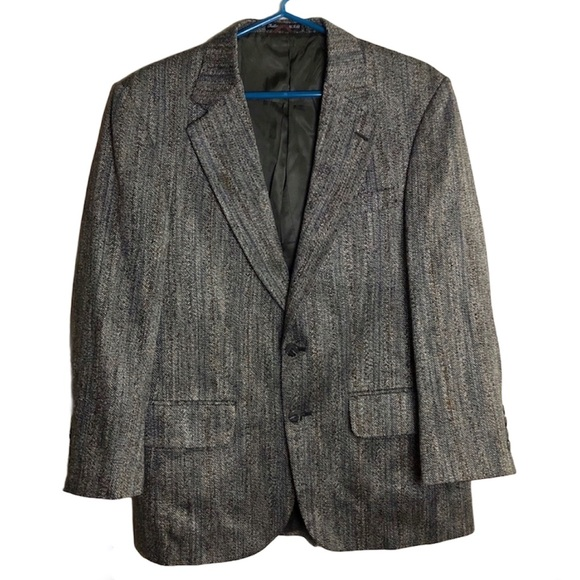 Vintage Stafford 2-Button Wool Sports Coat